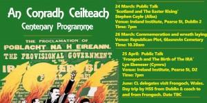 Conradh Ceilteach 1916 Commemoration Prog