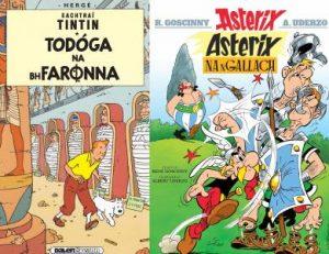Tintin ac Asterix